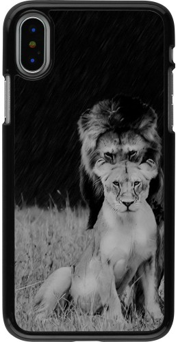 Coque iPhone X / Xs - Angry lions