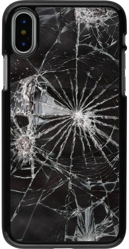 Coque iPhone X / Xs - Broken Screen