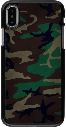 Coque iPhone X - Camouflage 3