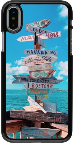 Coque iPhone X / Xs - Cool Cities Directions