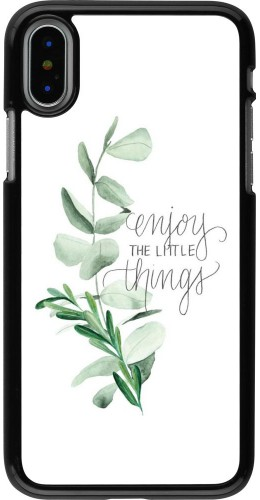 Coque iPhone X / Xs - Enjoy the little things