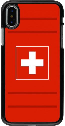 Coque iPhone X / Xs - Euro 2020 Switzerland