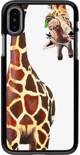 Coque iPhone X / Xs - Giraffe Fit