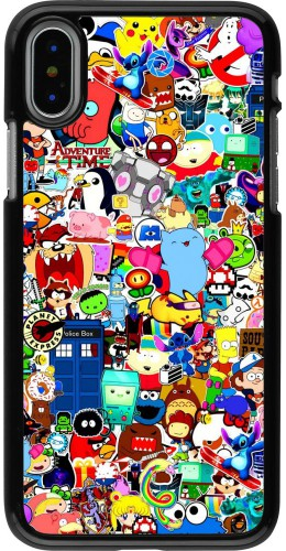Coque iPhone X / Xs - Mixed cartoons