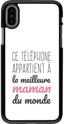 Coque iPhone X / Xs - Mom 20 04