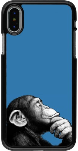 Coque iPhone X / Xs - Monkey Pop Art