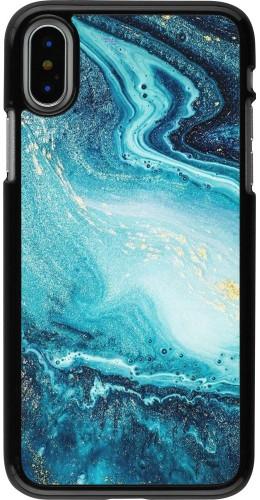 Coque iPhone X / Xs - Sea Foam Blue