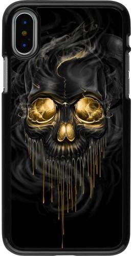 Coque iPhone X / Xs - Skull 02