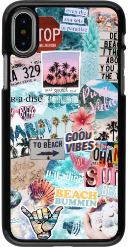 Coque iPhone X / Xs - Summer 20 collage