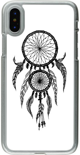 Coque iPhone X / Xs - Plastique transparent Dreamcatcher 02