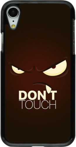 Coque iPhone XR - Angry Dont Touch