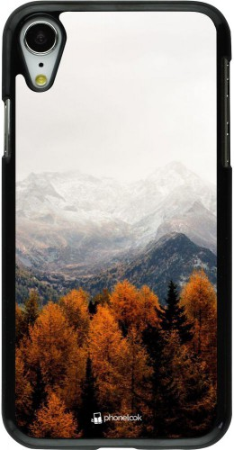 Coque iPhone XR - Autumn 21 Forest Mountain