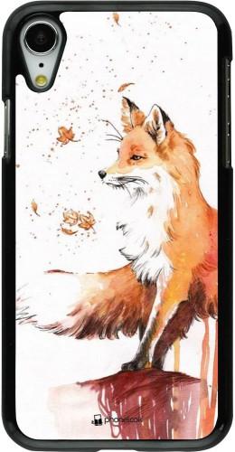 Coque iPhone XR - Autumn 21 Fox