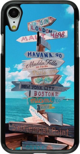 Coque iPhone XR - Cool Cities Directions