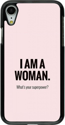 Coque iPhone XR - I am a woman