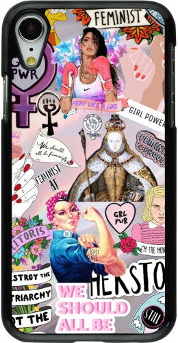 Coque iPhone XR - Girl Power Collage