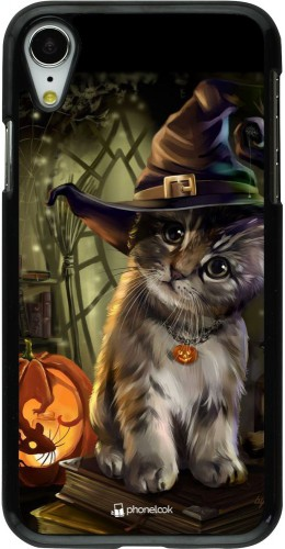 Coque iPhone XR - Halloween 21 Witch cat