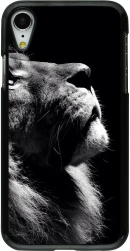 Coque iPhone XR - Lion looking up