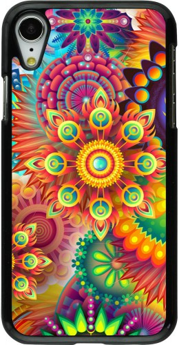 Coque iPhone XR - Multicolor aztec
