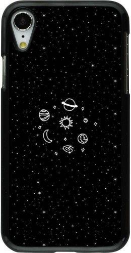 Coque iPhone XR - Space Doodle