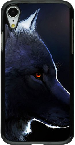 Coque iPhone XR - Wolf Shape