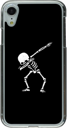 Coque iPhone XR - Plastique transparent Halloween 19 09