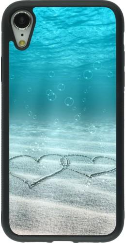 Coque iPhone XR - Silicone rigide noir Summer 18 19