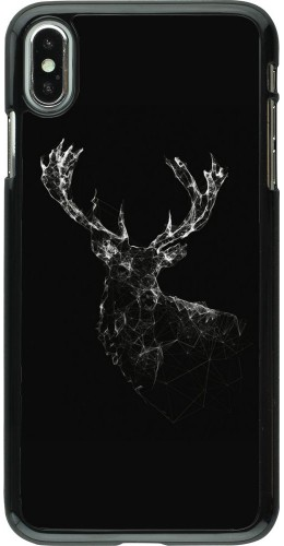 Coque iPhone Xs Max - Abstract deer