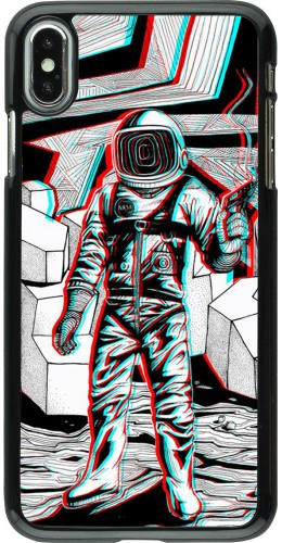 Coque iPhone Xs Max - Anaglyph Astronaut
