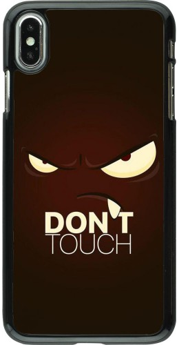 Coque iPhone Xs Max - Angry Dont Touch