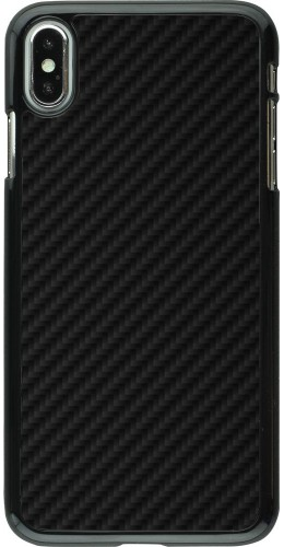 Coque iPhone Xs Max - Carbon Basic
