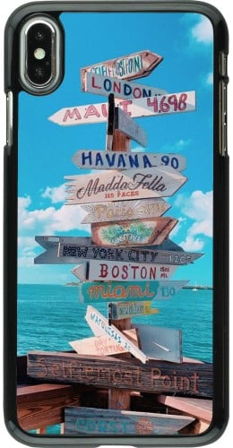 Coque iPhone Xs Max - Cool Cities Directions