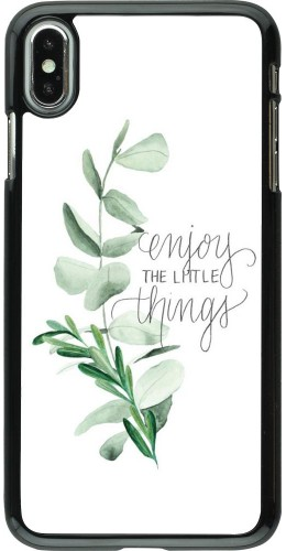 Coque iPhone Xs Max - Enjoy the little things