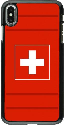 Coque iPhone Xs Max - Euro 2020 Switzerland