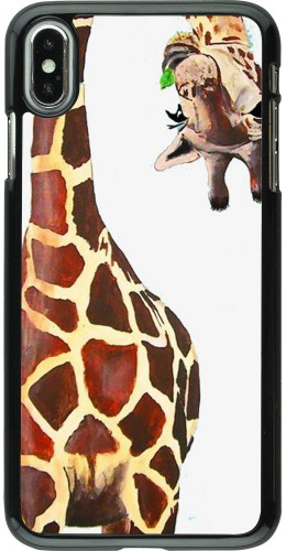 Coque iPhone Xs Max - Giraffe Fit