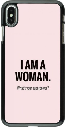 Coque iPhone Xs Max - I am a woman