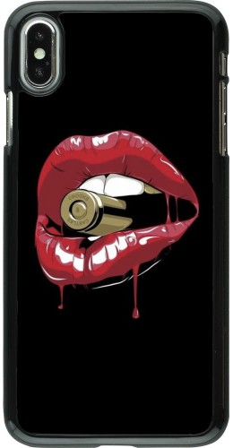 Coque iPhone Xs Max - Lips bullet