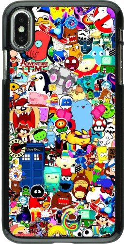 Coque iPhone Xs Max - Mixed cartoons