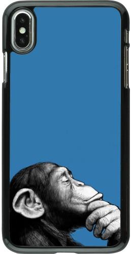 Coque iPhone Xs Max - Monkey Pop Art