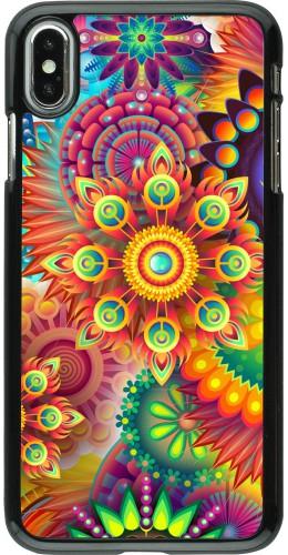 Coque iPhone Xs Max - Multicolor aztec