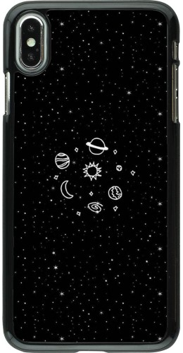 Coque iPhone Xs Max - Space Doodle