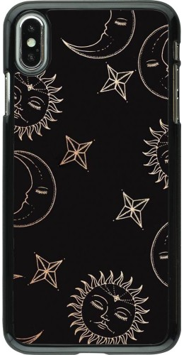 Coque iPhone Xs Max - Suns and Moons