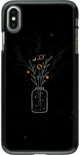Coque iPhone Xs Max - Vase black