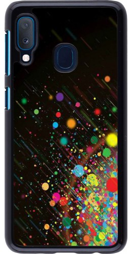 Coque Samsung Galaxy A20e - Abstract bubule lines