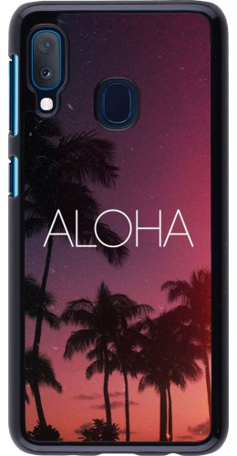 Coque Samsung Galaxy A20e - Aloha Sunset Palms