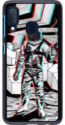 Coque Samsung Galaxy A20e - Anaglyph Astronaut