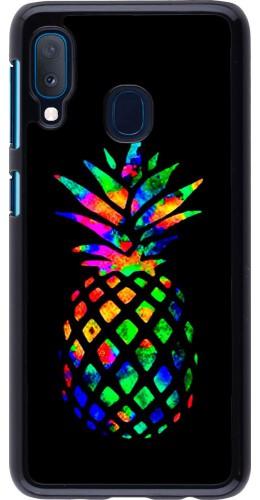 Coque Samsung Galaxy A20e - Ananas Multi-colors