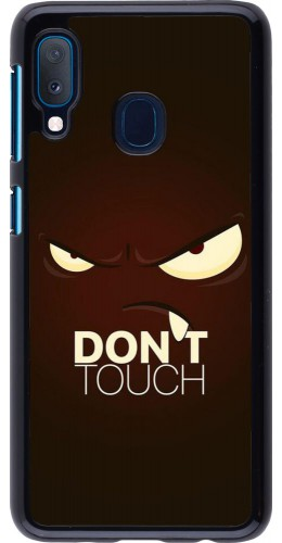 Coque Samsung Galaxy A20e - Angry Dont Touch