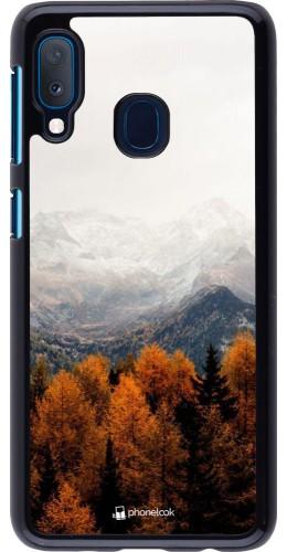 Coque Samsung Galaxy A20e - Autumn 21 Forest Mountain