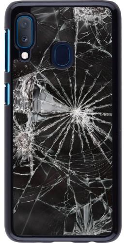 Coque Samsung Galaxy A20e - Broken Screen